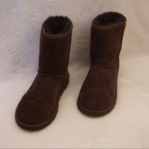 Ugg Brown Short Classic Boots 4Y/6W